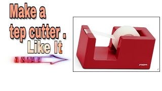 How to make a awesome tep cutter from cardboard II Made by Useful Hacker . #USEFULHACKER #TDJIDEAHAC
