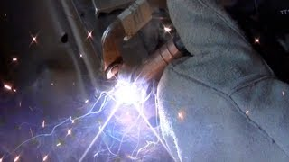 Welding with the $100 Welder from Harbor Freight 02:41