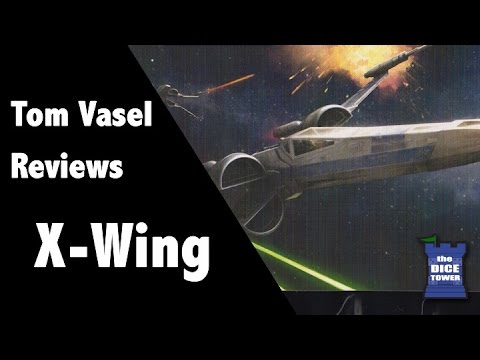 Star Wars: X-wing Miniatures Review - with Tom and Melody Vasel