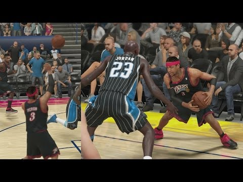 NBA 2K14 PS4 My Team - 76ers Iverson Deserved!