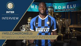 ROMELU LUKAKU | First Inter TV Interview | #WelcomeRomelu! 🎙️⚫️🔵 [SUB ENG + ITA]