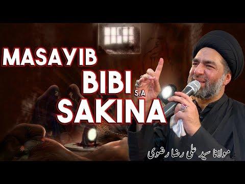 Masayib e Bibi Sakina S.A   Maulana Syed Ali Raza Rizvi   13 - Safar Shahadat Bibi Sakina S.A