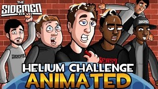 THE SIDEMEN HELIUM CHALLENGE ANIMATED!