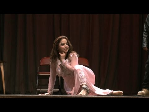 Nida Choudhry Zabardast Stage Dance video