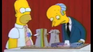 Homers Enemy-Nuclear contest scene+Frank goes crazy