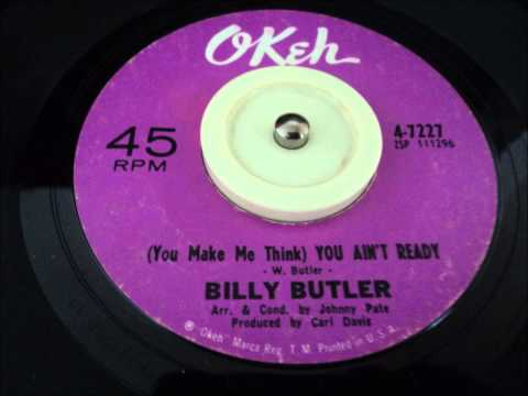 YOU MAKE ME THINK - BILLY BUTLER