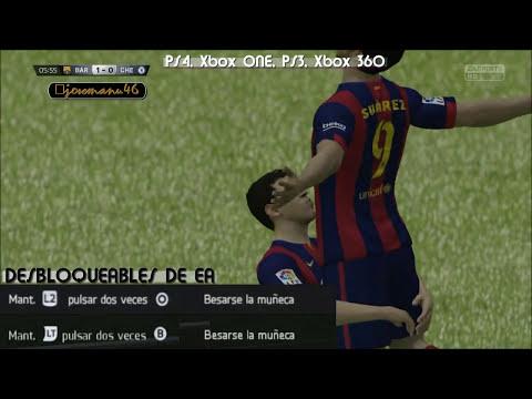 FIFA 15: TUTORIAL Luis Suarez Celebration Kiss the Wrist (Besarse la Muñeca)