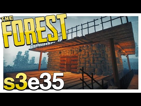 THE BALCONY | The Forest Gameplay S3E35 (Alpha v0.42)