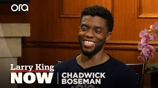 Chadwick Boseman: 'Black Panther' should inspire kids of all races