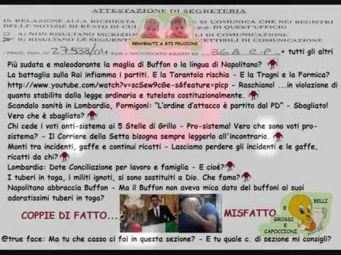 Più sudata e maleodorante la maglia di Buffon o la lingua di Napolitano?