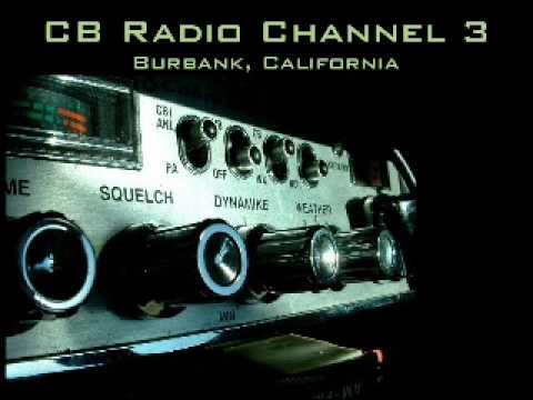 Buttcrack Benny CB radio fight, locals t-hunt him -  Part 2 of 4 - CB Channel 3 Burbank