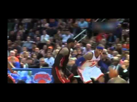 Carmelo Anthony vs the Miami Heat, 2012 NBA Playoffs, Round 1 Game 4