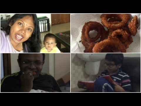 2pm to 10pm vlog    surprise your kids with yummy food    sireeshavlogs
