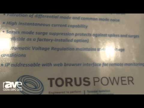CEDIA 2015: Torus Power Launches TOT AVR Voltage Regulation System