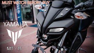 Yamaha MT-15 | Naked beast | R15 v3 killer Review and Walkaround | 2019