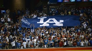 Dodgers vs Diamondbacks 7/16/16 Pantone294 RoadTrip to Arizona
