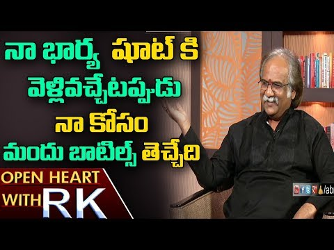 Senior Actor Subhalekha Sudhakar About His work Dedication &SP Balasubrahmanyam | Open Heart with RK