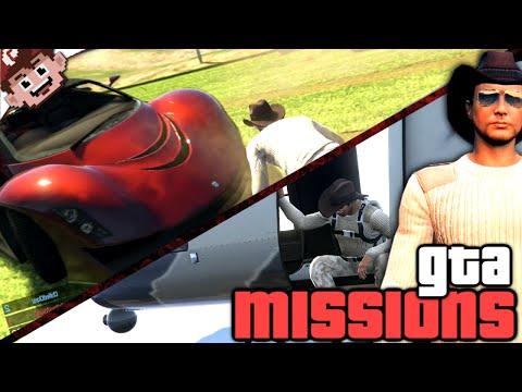 Danger, Death, Destruction and DERP!! (Grand Theft Auto Online Jobs #1)