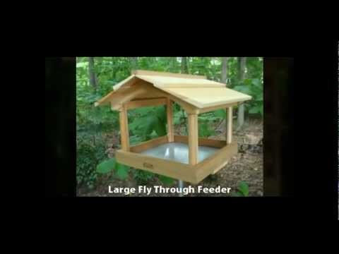 Wooden Bird Feeders Australia