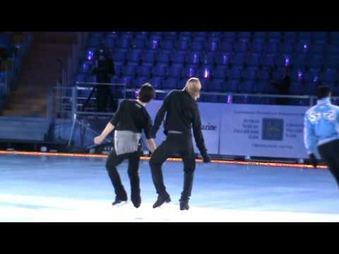 Plushenko  Kings on Iceрепетиция  Королей 31.03.10 Москва