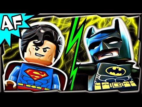 Lego BATMAN vs SUPERMAN Part 1 - Click a Winner - Superheroes Battle