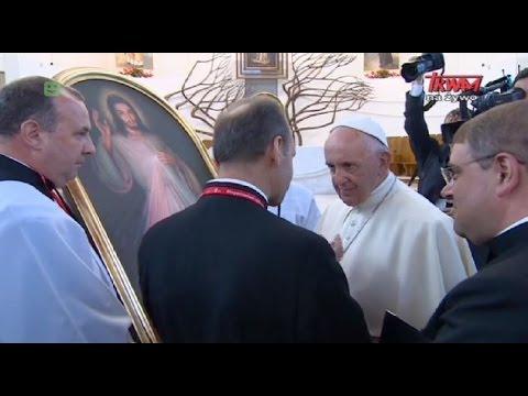 Wizyta Ojca św. Franciszka W Sanktuarium Miłosierdzia Bożego W Krakowie-Łagiewnikach
