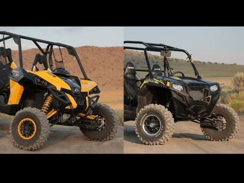 2013 Can Am Maverick X RS vs  2013 Polaris RZR XP 900 LE EPS