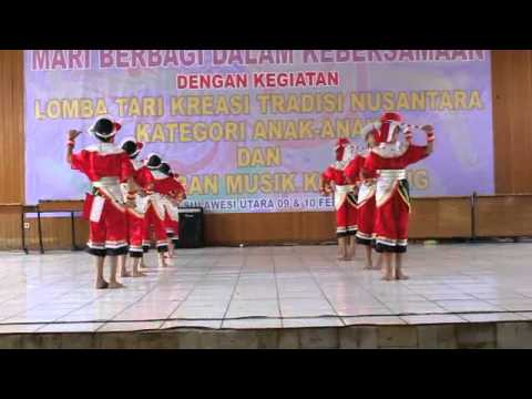 Sanggar Andam Suri - Tari Anak Indonesia - Anjungan Sulut 2013 video