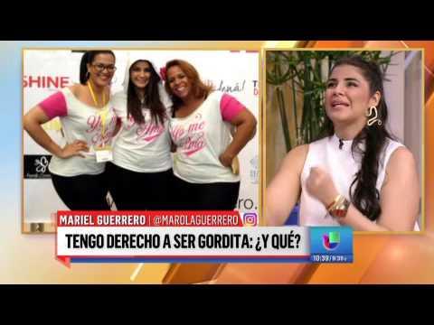 Mariel Guerrero, directora de la campaña #Yomeamo, por primera vez en Despierta América.