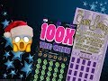 WIN!! $50 Platinum Texclusive & $20 100X The Cash Texas Lottery Scratch Off Tickets
