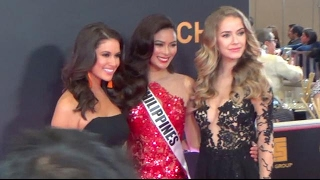 Calm, excitement, and jitters a night before Miss Universe coronation