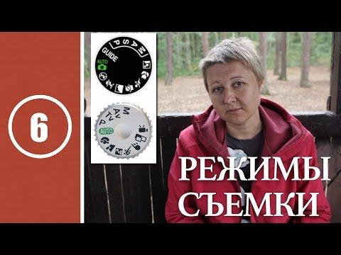 Уроки съемки с Nikon D3100 - видео