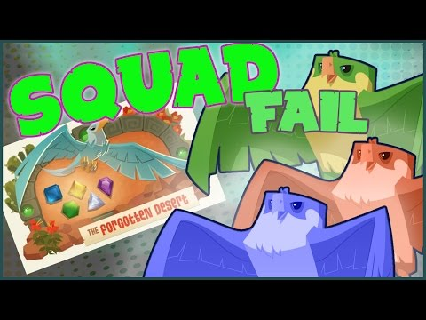 ANIMAL JAM: SQUAD FAIL, FORGOTTEN DESERT, SOON FORGOTTEN