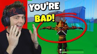 i emoted every kill on strucid fortnite... (very disrespectful)