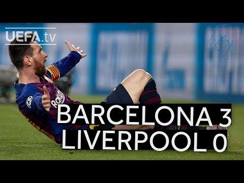 BARCELONA 3-0 LIVERPOOL UCL HIGHLIGHTS