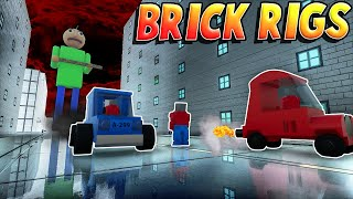 BALDI COMES TO LEGO CITY?! - Fun Lego User Creations! - Brick Rigs Gameplay Roleplay (Kid Friendly)