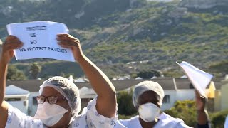 Health workers in South Africa massively affected by Covid 19