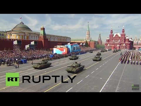 Russia: Brand-new Armata T-14 main battle tank debuts at Moscow's V-Day parade