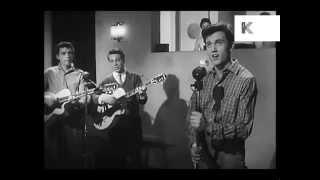 1950s Band in Recording Studio, Recording Session