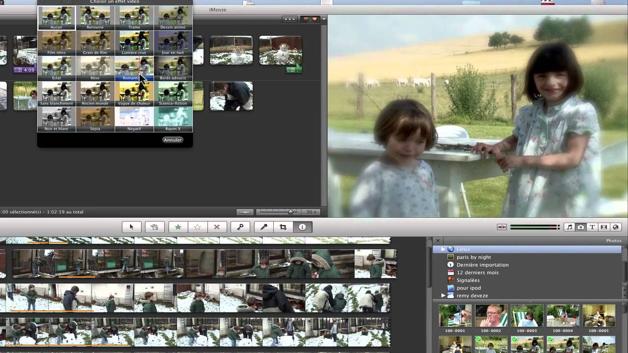 how to add photos to imovie