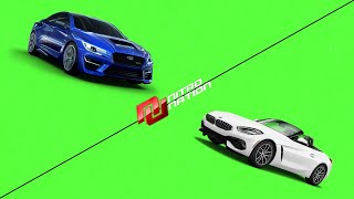 Nitro Nation third Boss : Subaru Wrx Sti vs BMW Z4