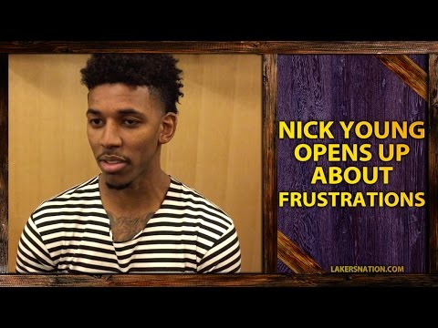Nick Young Opens Up About Frustrations, Disappointments Of Not Playing