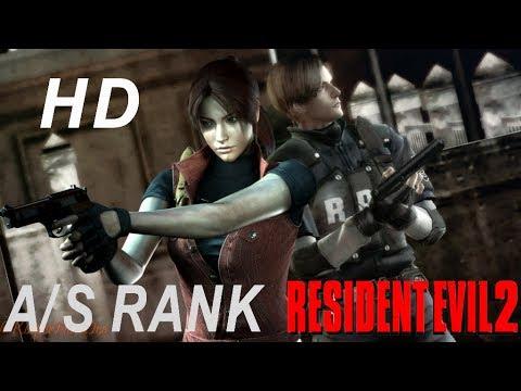 Resident Evil 2 Leon A/S rank HD