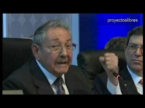 Raúl Castro frente a Obama discurso histórico en Cumbre de las Américas 2015