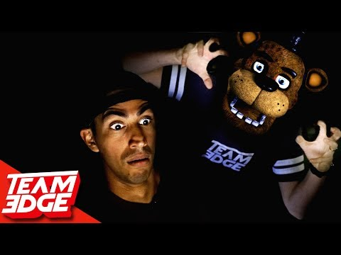 Five Nights at Freddy's   In Real Life!!