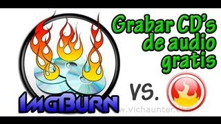 Como grabar mp3 como CD de audio con ImgBurn