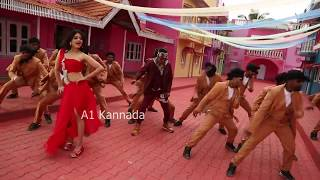 Raj Vishnu heroine hot dance    Vaibhavi hot dance making video    HD    Exclusive    A1 Kannada