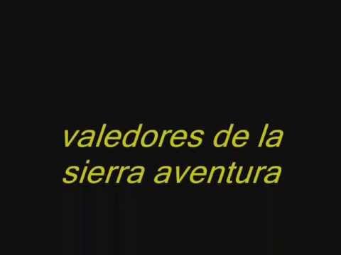 letra de la aventura: