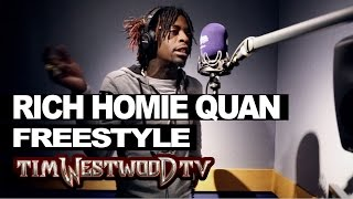 Rich Homie Quan freestyles over Bryson Tiller, Gucci, 2Pac & Nas - Westwood