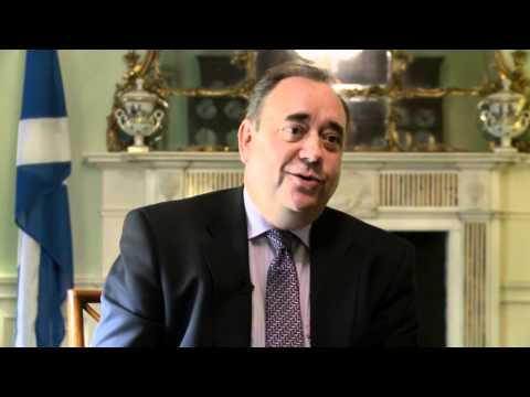 Alex Salmond interview: 'England's a great country'